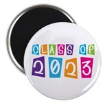 Whimsical Class Of 2023 Magnet