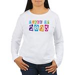 Whimsical Class Of 2023 Women's Long Sleeve T-Shir