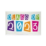 Whimsical Class Of 2023 Rectangle Magnet