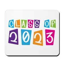 Whimsical Class Of 2023 Mousepad