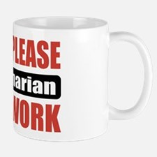 Veterinarian Work Mug