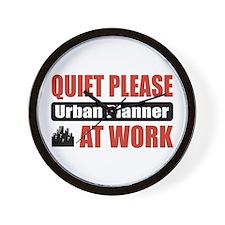 Urban Planner Work Wall Clock