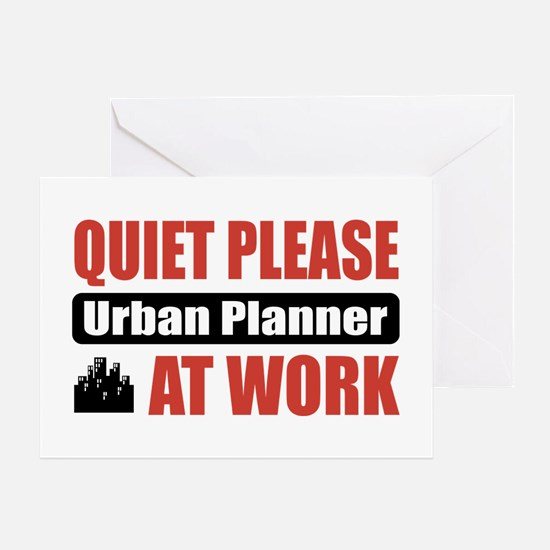 Urban Planner Work Greeting Card