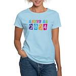 Colorful Class Of 2024 Women's Light T-Shirt