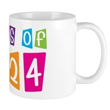 Colorful Class Of 2024 Mug