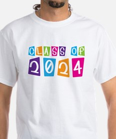 Colorful Class Of 2024 Shirt