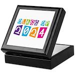 Colorful Class Of 2024 Keepsake Box