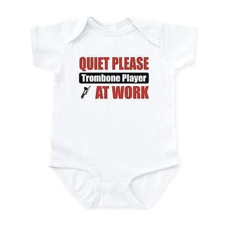 Trombone Player Work Infant Bodysuit