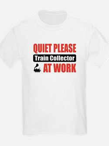 Train Collector Work T-Shirt