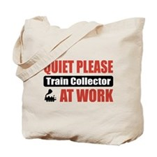 Train Collector Work Tote Bag