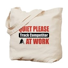 Track Competitor Work Tote Bag
