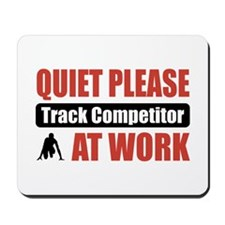 Track Competitor Work Mousepad