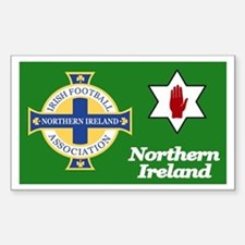 Northern Ireland football Sticker (10 pk)
