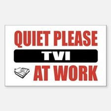 TVI Work Rectangle Decal