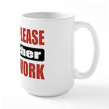 Teacher Work Mug