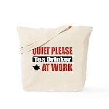 Tea Drinker Work Tote Bag