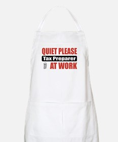 Tax Preparer Work BBQ Apron