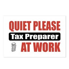 Tax Preparer Work Postcards (Package of 8)