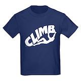 Bouldering Kids T-shirts (Dark)