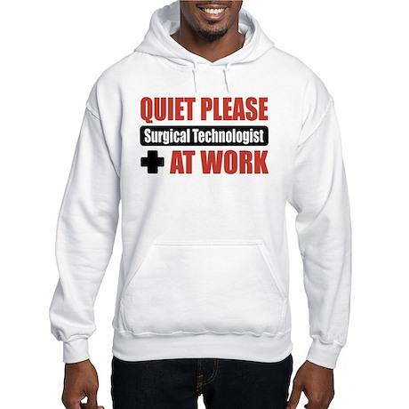 Surgical Technologist Work Hooded Sweatshirt