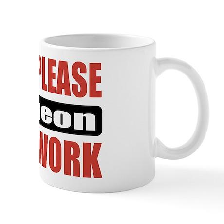Surgeon Work Mug