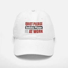 Sudoku Player Work Baseball Baseball Cap