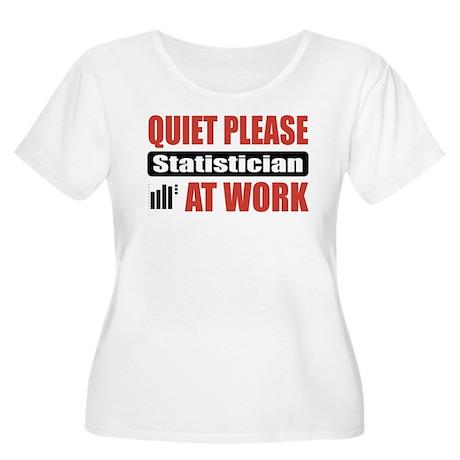Statistician Work Women's Plus Size Scoop Neck T-S
