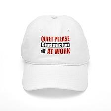 Statistician Work Baseball Cap