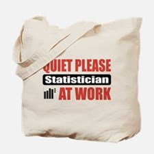 Statistician Work Tote Bag