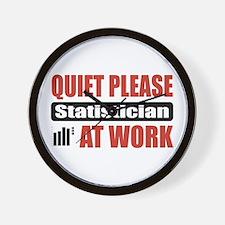 Statistician Work Wall Clock