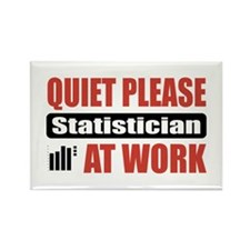 Statistician Work Rectangle Magnet (10 pack)