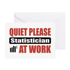 Statistician Work Greeting Card