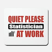 Statistician Work Mousepad