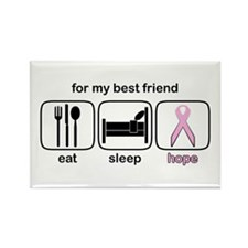 Best Friend ESHope BCA Rectangle Magnet