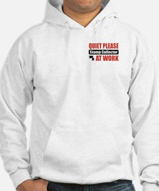 Stamp Collector Work Hoodie