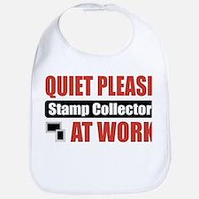 Stamp Collector Work Bib
