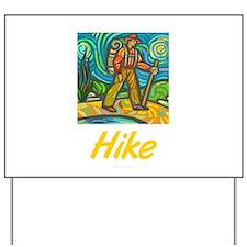 Hike Yard Sign