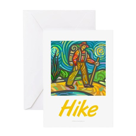 Hike Greeting Card