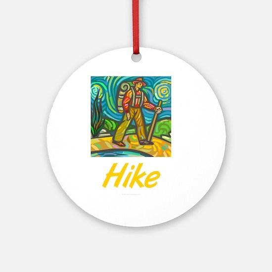 Hike Ornament (Round)