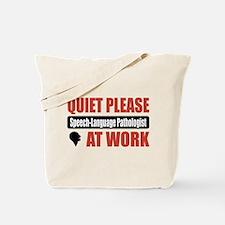 Speech-Language Pathologist Work Tote Bag