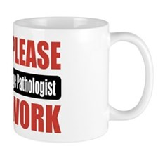 Speech-Language Pathologist Work Mug