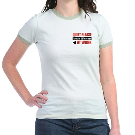 Special Ed Teacher Work Jr. Ringer T-Shirt