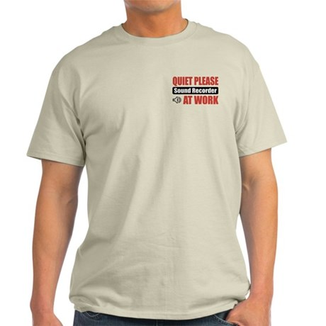 Sound Recorder Work Light T-Shirt