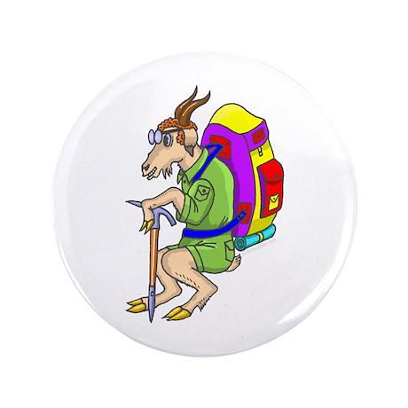 "Mountaineering 3.5"" Button"