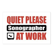 Sonographer Work Postcards (Package of 8)