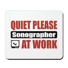 Sonographer Work Mousepad