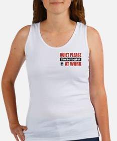 Sociologist Work Women's Tank Top