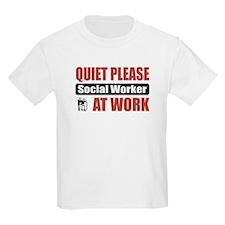 Social Worker Work T-Shirt