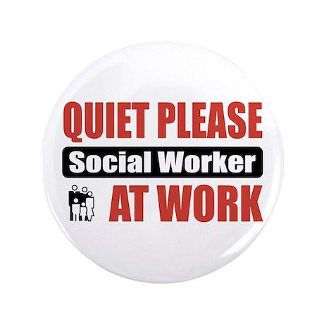 "Social Worker Work 3.5"" Button (100 pack)"
