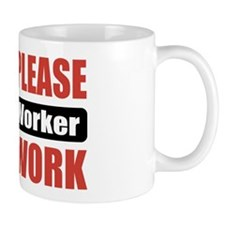 Social Worker Work Mug